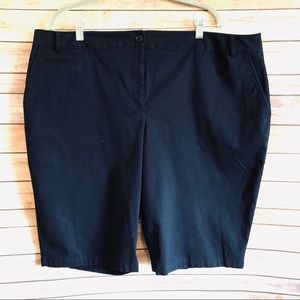 Talbots|Perfect Shorts-Long Length|Indigo Blue|20W